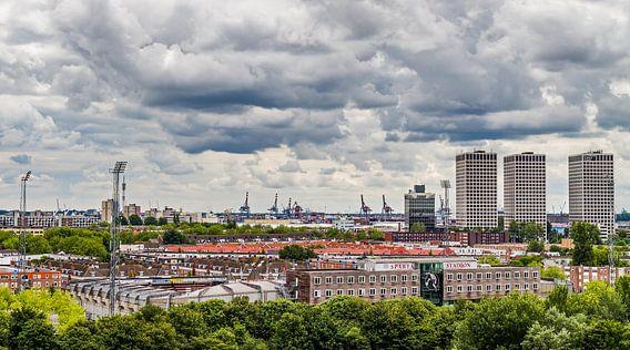 Sparta Rotterdam | Stadion Sparta Rotterdam van MS Fotografie