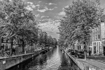Lauriergracht Amsterdam in de herfst. van Don Fonzarelli