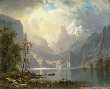 Albert Bierstadt. American Landscape