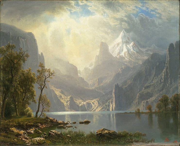 Albert Bierstadt. American Landscape van 1000 Schilderijen