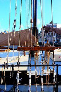 Haarlem, driemaster de Soeverijn