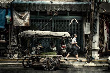 Thailand, Phuket city van Keesnan Dogger Fotografie