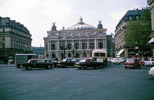 Vintage foto Parijs