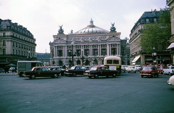 Vintage foto Parijs van Jaap Ros