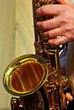 saxofoons spelen