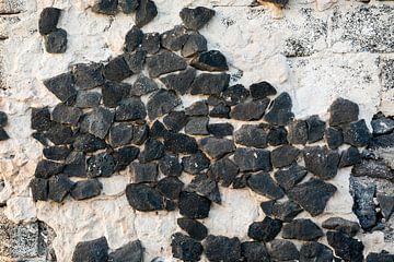 Mur de pierre de lave sur Uwe Merkel