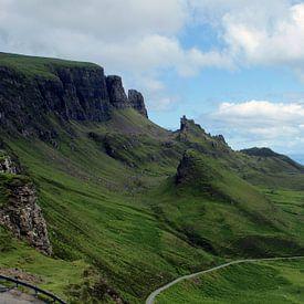 De Quiraing, Isle of Skye van Jeroen van Deel