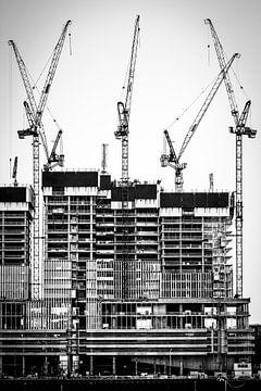 De Rotterdam in aanbouw van Govart (Govert van der Heijden)