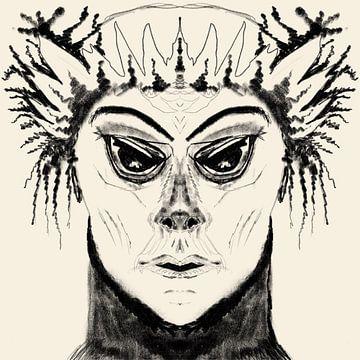 Masker van Monique Schilder