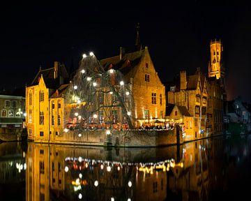 Weihnachten in Brügge von Vincent Willems