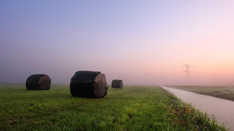 Nederlands polderlandschap van Mark Leeman