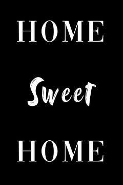 home sweet home wreath Geschenk willkommen zuhause von Felix Brönnimann
