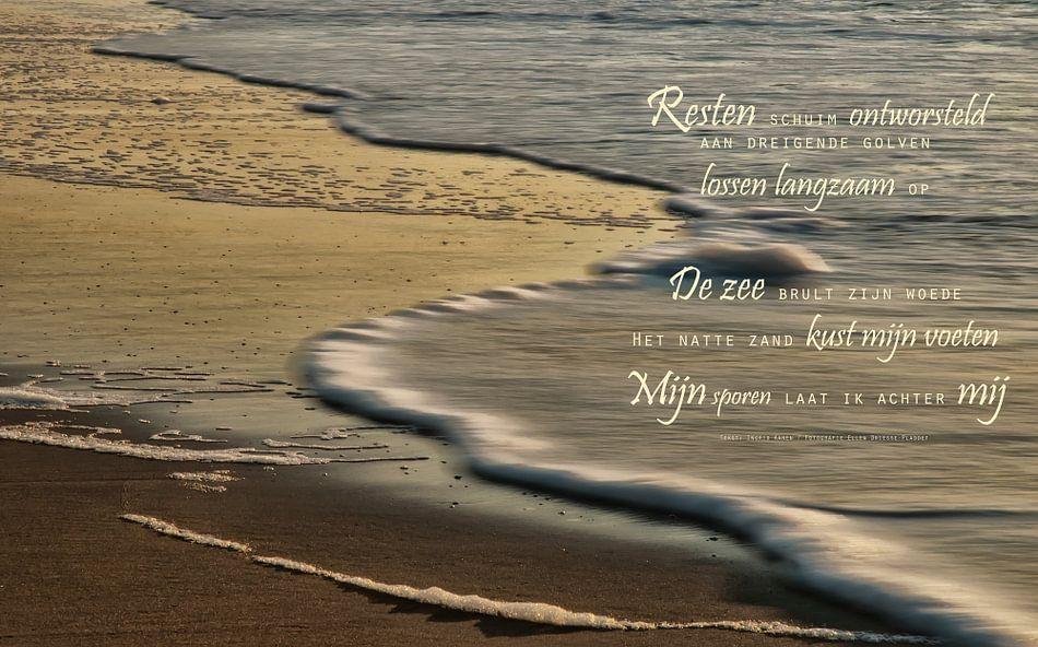 De zuiverende zee (1) van Beeld en Poëzie