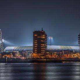 Feyenoord stadion De Kuip tijdens een Europa League avond van Tux Photography
