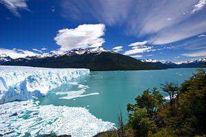 Perito Moreno, Patagonie van Gerard Burgstede