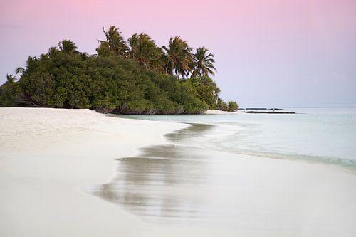 AVOND OP DE MALDIVEN van