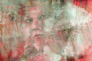 Tenderly - Nora und die Pusteblumen: Variante II in Türkis und Rot
