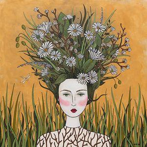 Bloemen in mijn gedachte (nr.2020-17)
