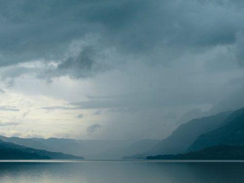 Noors fjord van
