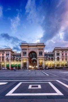 MILAN Galleria Vittorio Emanuele II sur Melanie Viola