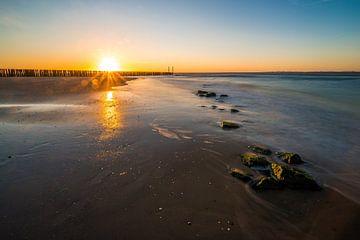 Strand Breskens von Peter Deschepper