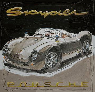 Porsche 550 Spyder van Jeroen Quirijns