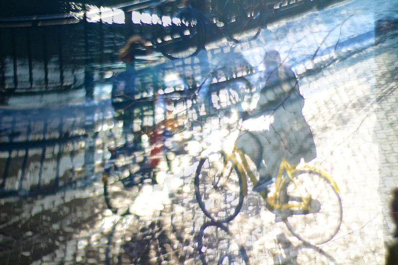 Winter fietsers sur Marianna Pobedimova
