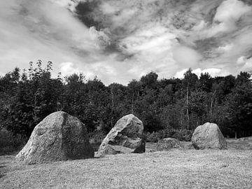 Dolmenanlage Lindeskov Hestehave, Ørbæk, Fünen, Dänemark von Jörg Hausmann