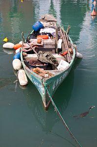 Bootje in Haven van Peschiera