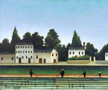 Landschaft mit vier Fischern, Henri Rousseau