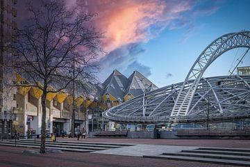 Rotterdam Blaak von Mart Houtman