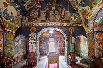 Fresco in een klooster van Antwan Janssen