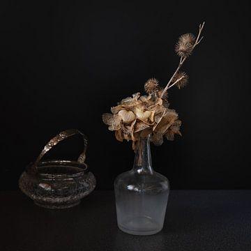 Hortensie in einer Vase von Jefra Creations
