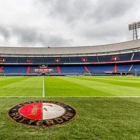 De Kuip Spielfeld Feyenoord Rotterdam von Tux Photography