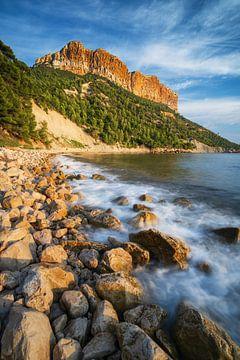 Mittelmeer Küste in Cassis in Südfrankreich nahe Marseille