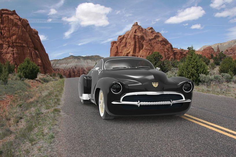 Concept car Black Mountains van H.m. Soetens