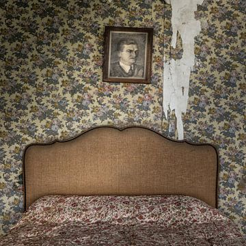 Urbex fotografie in een verlaten kasteel in de Auvergne Frankrijk sur Keesnan Dogger Fotografie