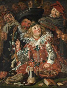 Lustige Gesellschaft, Frans Hals