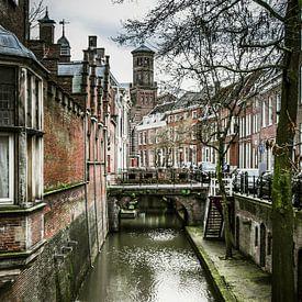 Utrecht - Kromme Nieuwegracht van Ricardo Bouman | Fotografie