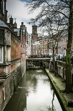 Utrecht - Kromme Nieuwegracht van