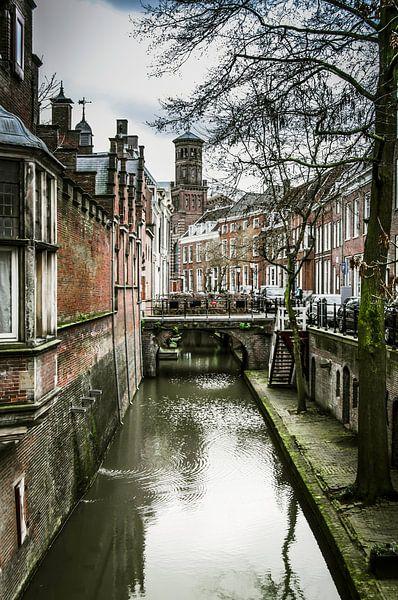 Utrecht - Kromme Nieuwegracht van Ricardo Bouman   Fotografie