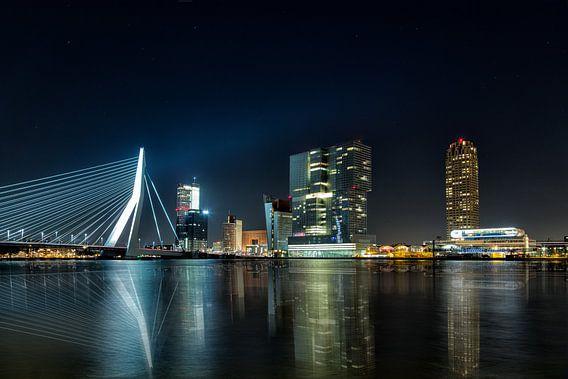 Rotterdam Skyline at Night