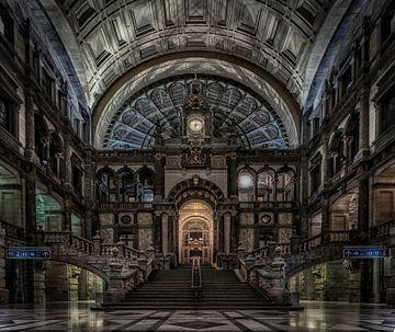 Centraal Station Antwerpen van Mario Calma
