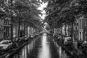 Canal in Delft van