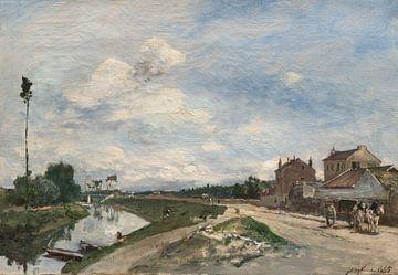 Die Seine in Bas-Meudon, Johan Barthold Jongkind