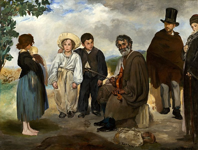 De Oude Muzikant, Edouard Manet