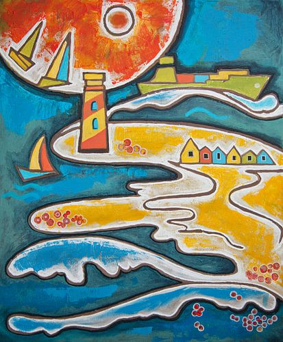 zee (beach life) von Ariadna de Raadt