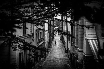 Stockholm Gamla Stan B / W 2 von Joram Janssen