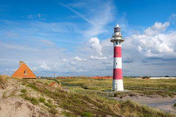 Leuchtturm Nieuwpoort von Johan Vanbockryck