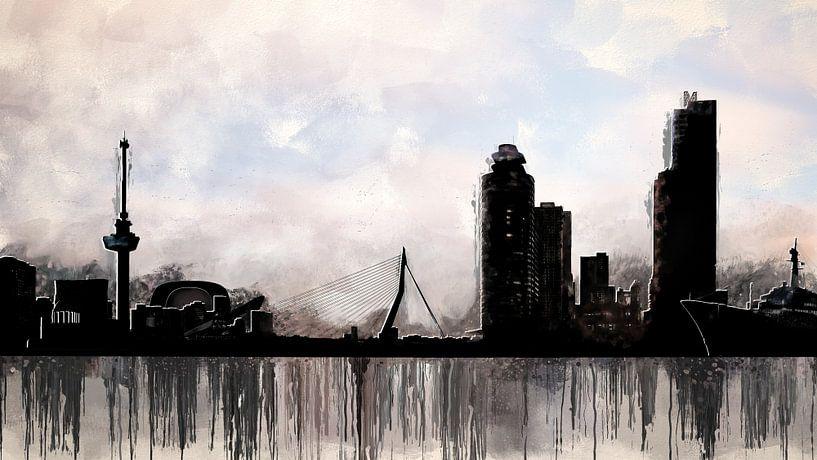 Stadt Rotterdam von Arjen Roos